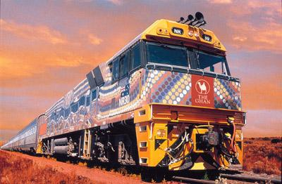 how to get to uluru from sydney by train