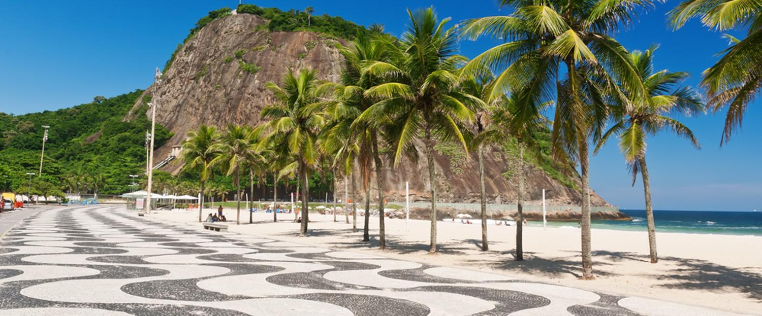Copacabana is one of Rio's most iconic beaches.