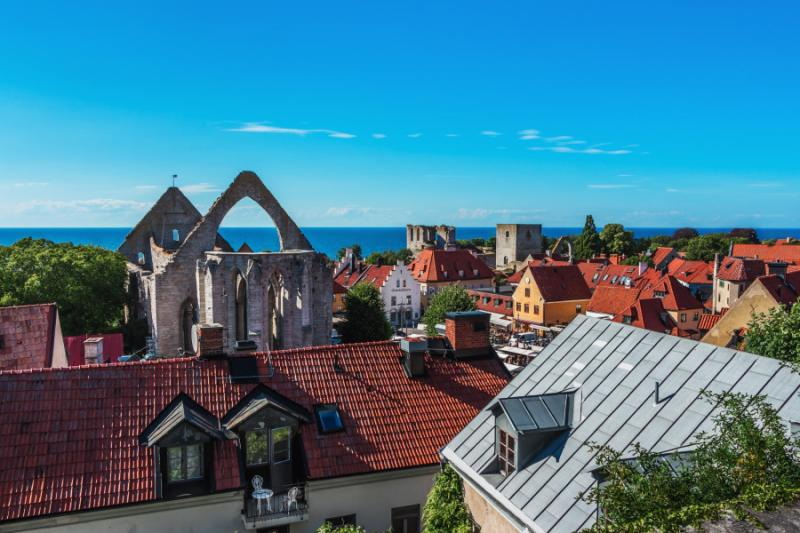 Views of Visby, Sweden