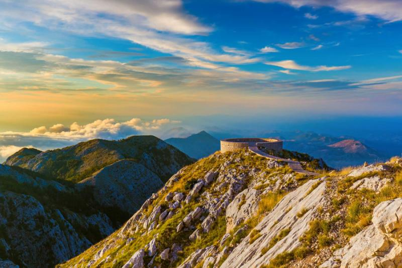 Lovcen Mountains National park.