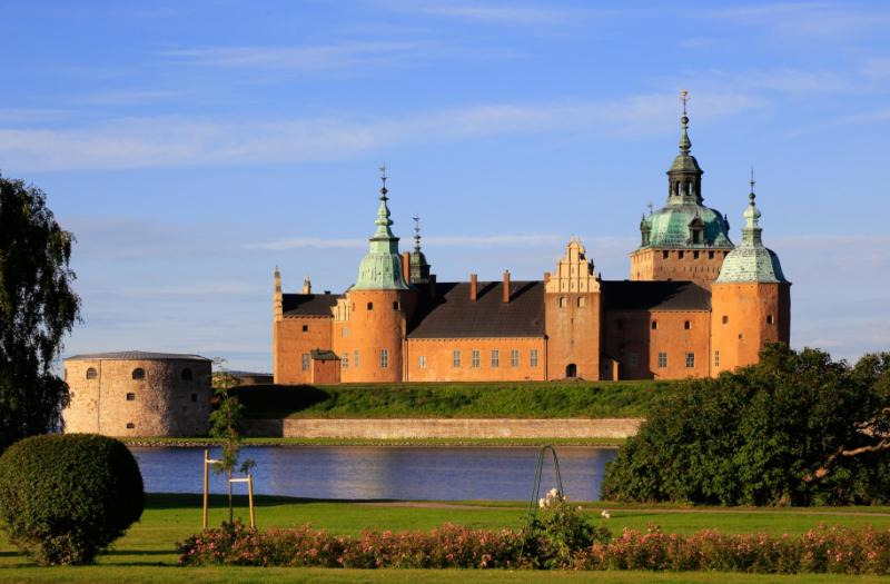 Kalmar castle located in Kalmar, Sweden
