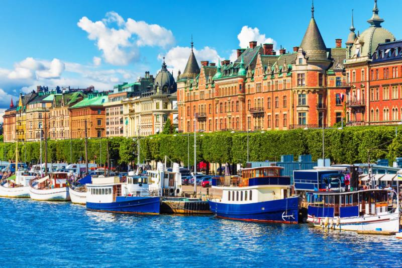 Stockholm is a gateway to travel in Sweden