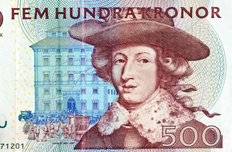 Swedish krona, the currency in Sweden