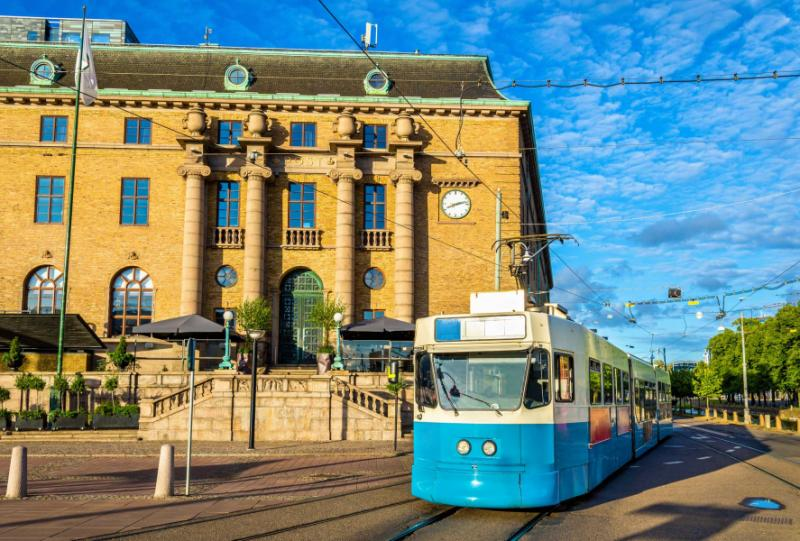 Tram in Gothenburg