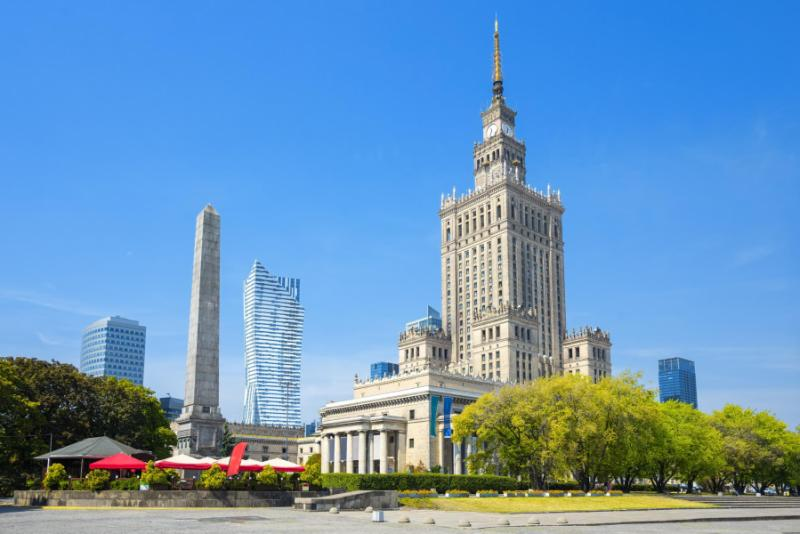 Warsaw Palace of Culture and Science.