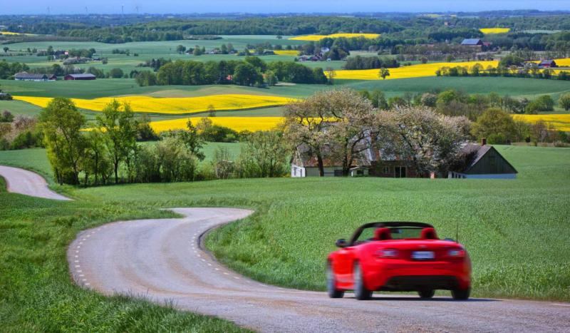 Travel by car is an excellent way to see Sweden at your own pace