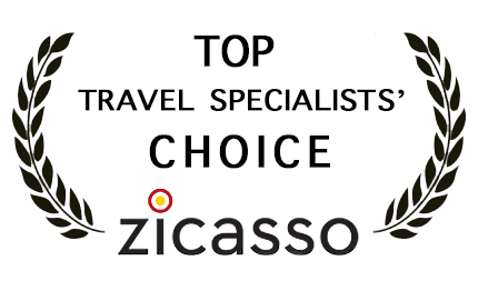 Zicasso Top Travel Specialist White Final Logo