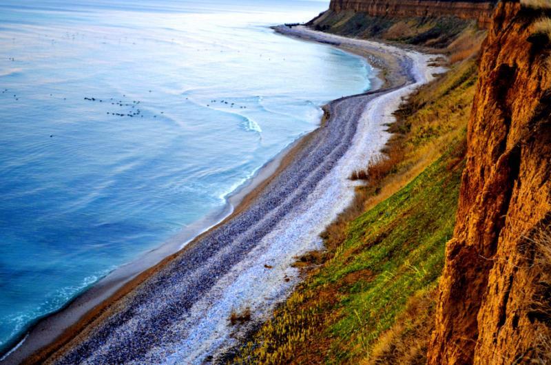 Black Sea Beach, Romania.