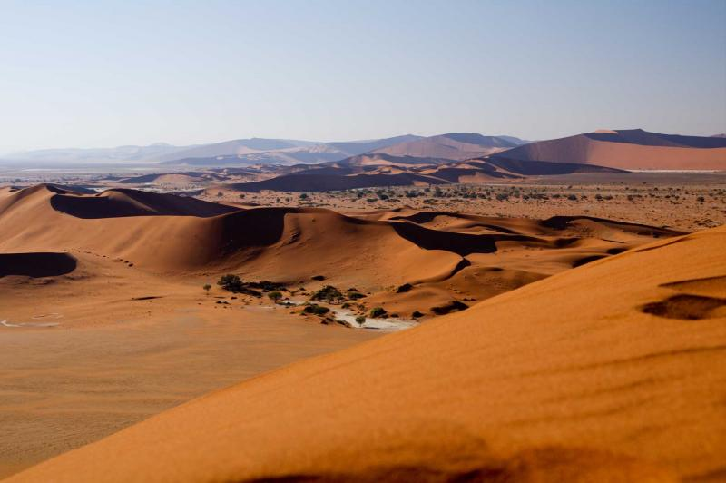 desertification which hampers development in namibia