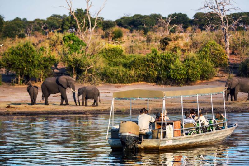 Luxury Chobe and Okavango Houseboat Safari