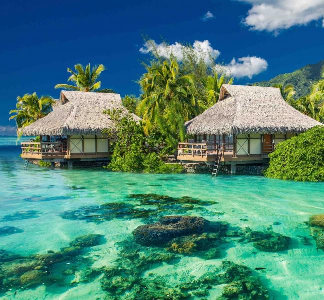 Fijian luxury vacation on malolo island overwater Overwater bungalows fiji