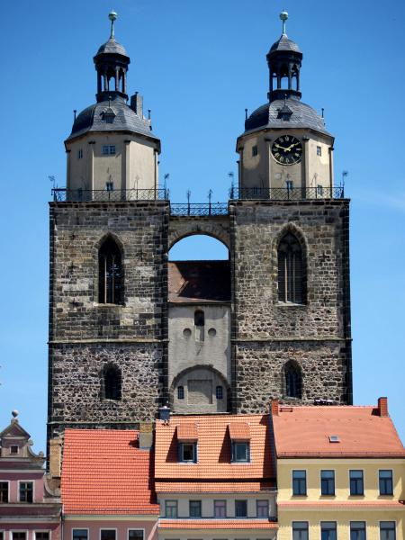... St. Marien Church In Wittenberg, ...