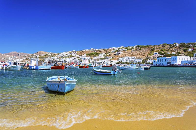 Best Island Beaches For Partying Mykonos St Barts: Best Of Greece & Cyprus Vacation