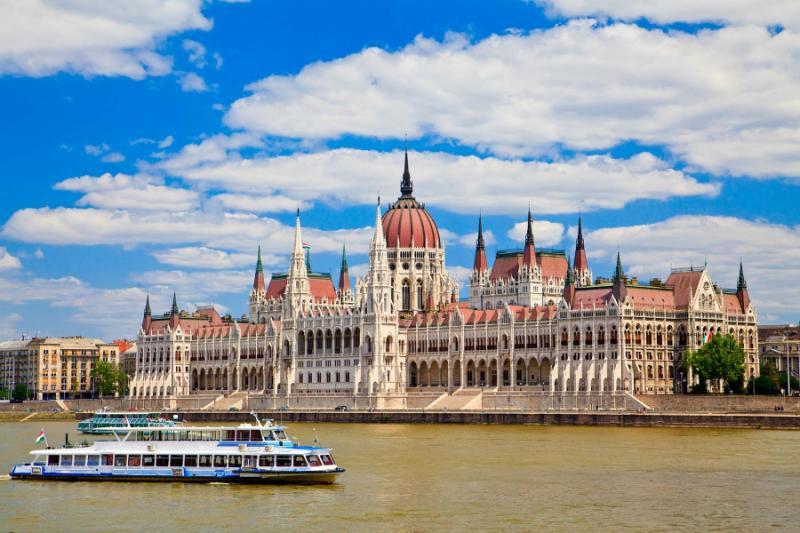 Parliament building Budapest, Hungary.