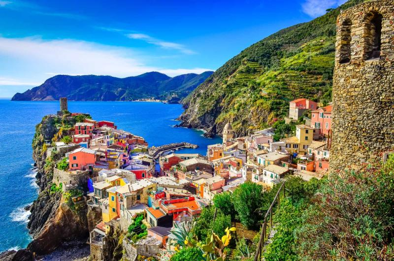 Image result for mountain view italy