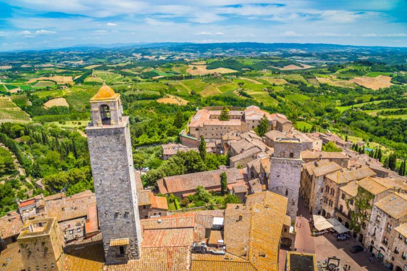 Italian Florence: Best Of Tuscany In A Week Itinerary: Lucca, Pisa, San