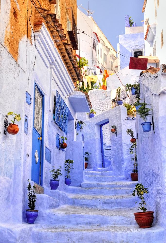 Best Morocco Tours Zicasso - Old town morocco entirely blue