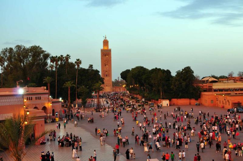 show topic train journey marrakech morocco