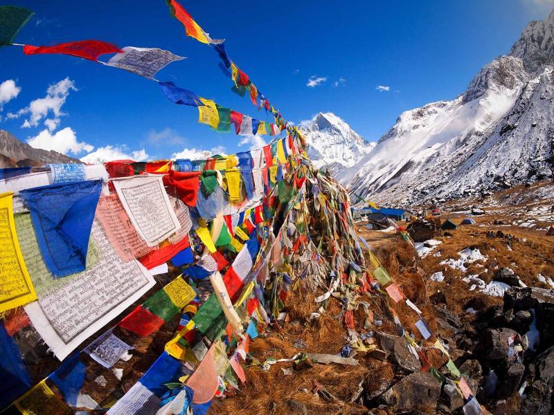 Himalaya Fahnen