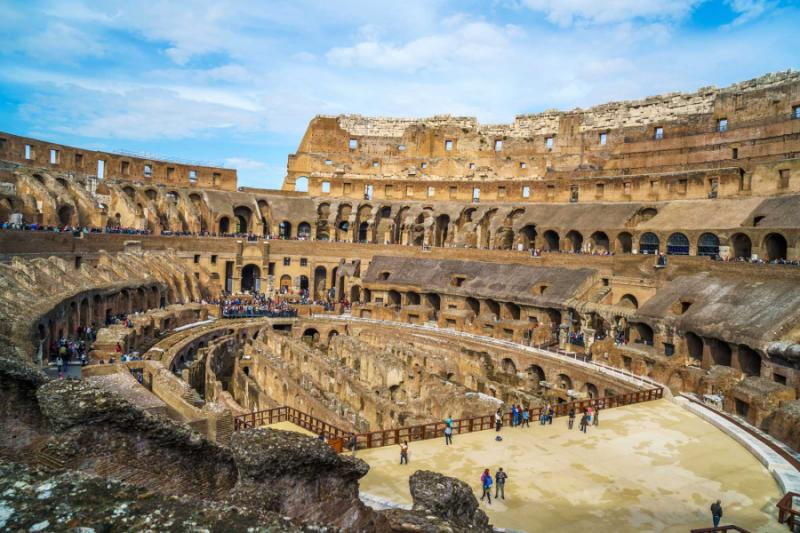 Discover Ancient History And Classic Scenery Of Rome
