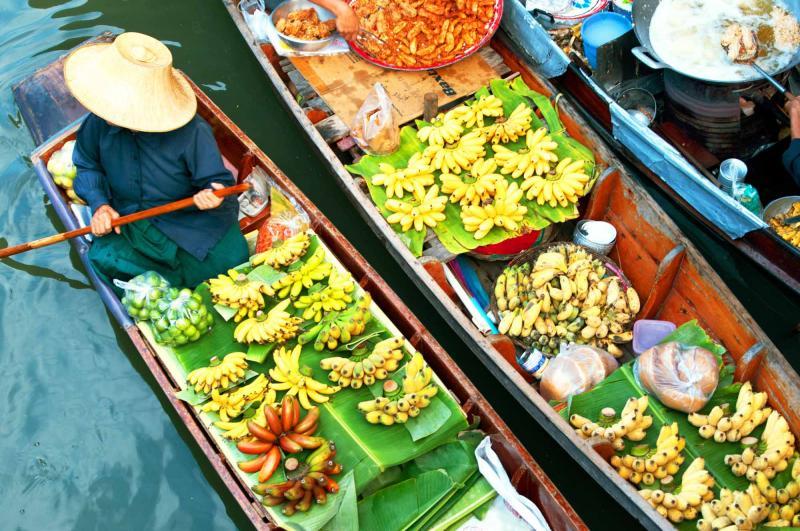 Tour of Thailand & Vietnam: Bangkok's Floating Markets to