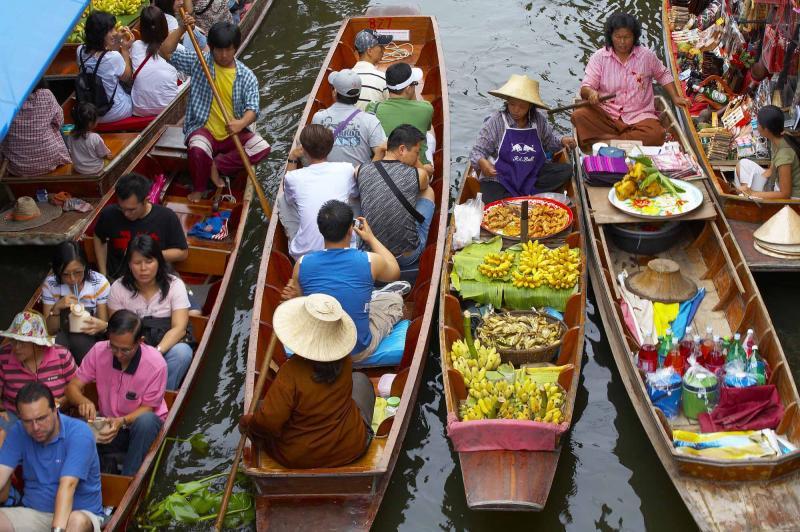 Tour of Thailand & Vietnam: Bangkok's Floating Markets to ...