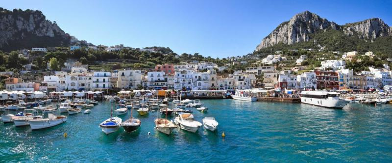 La Scalinatella - La Scalinatella Capri, Hotel by WT7 UK |Capri Italy Golf