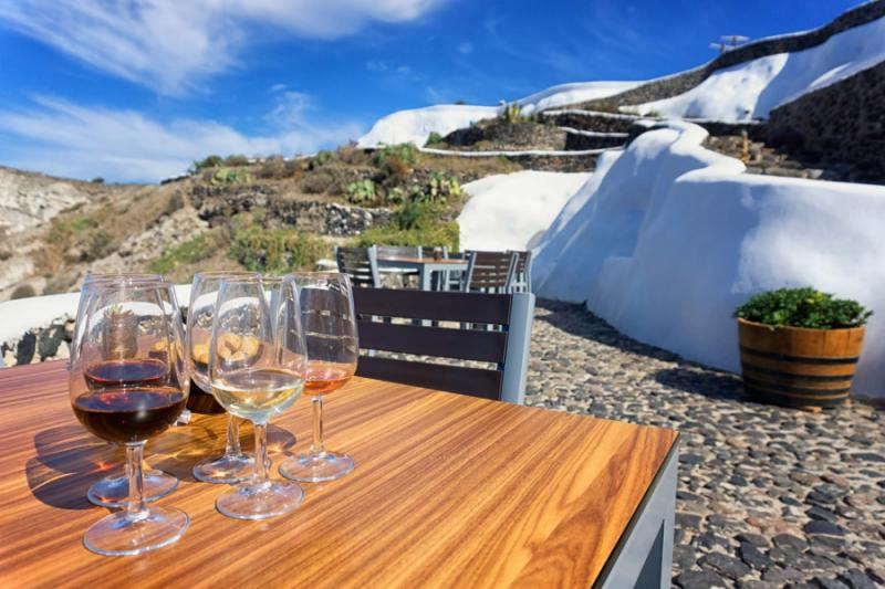 Santorini Wine Tour Cooking Class