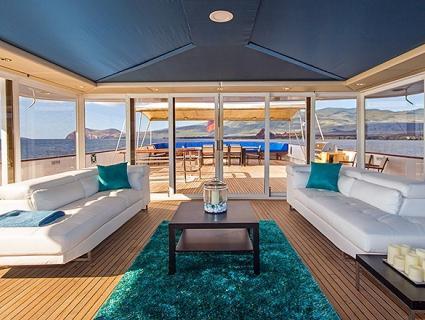 Passion Galapagos Luxury Cruise - Sky Lounge