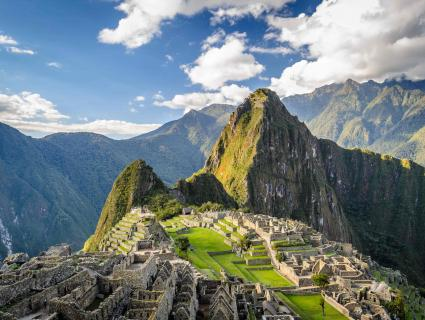 Discover the breathtaking Lost City of Machu Picchu, Peru.