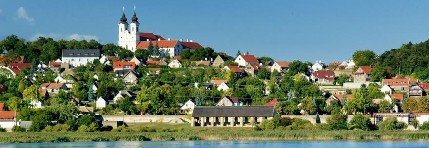 Tihany Village in Hungary
