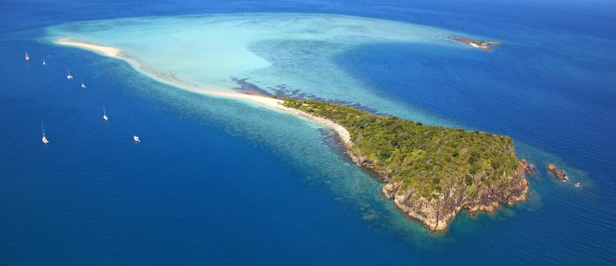 australia great barrier reef sailing boats