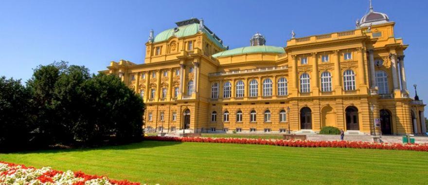 Croatian National Theatre in Zagreb.