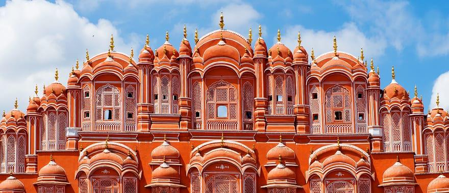 Hawa Mahal palace, Palace of the Winds, in Jaipur, Rajasthan