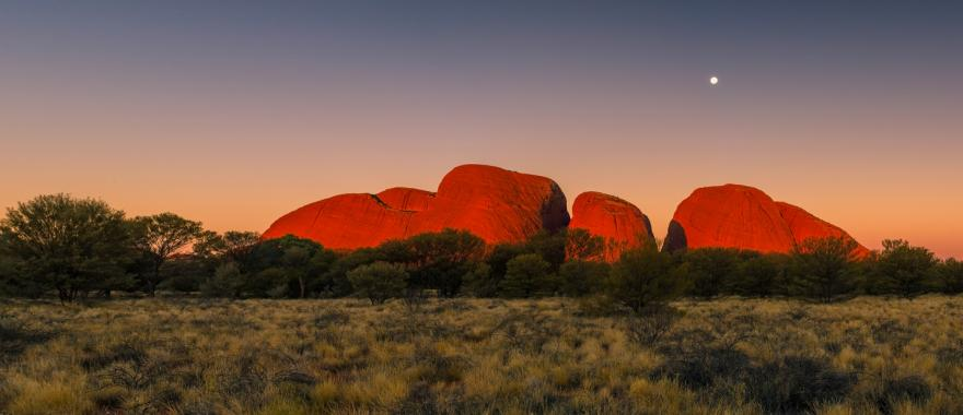 Uluru is also known as Ayers Rock and is a sacred aboriginal site.