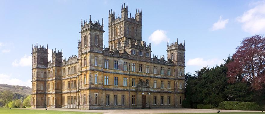 Highclere Castle, England: Photo courtesy Marci-Beth Maple