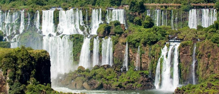 Iguazu Falls is one of Argentina's most popular attractions.