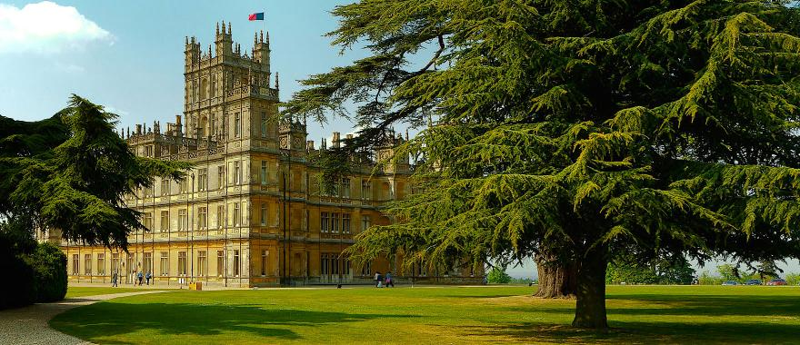 Highclere Castle. Photo by Richard Munckton on Flickr