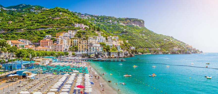 Stephanie miles amalfi coast