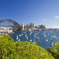 The Sydney Harbour is one of the most spectacular sights in Australia.