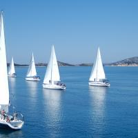 Sailing is a popular activity in Croatia because of its stunning coastline.