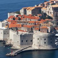 The fortress in Dubrovnik, Croatia.