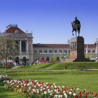 Zagreb's central railway, Croatia.
