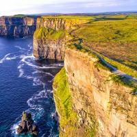 View of Cliffs of Moher.