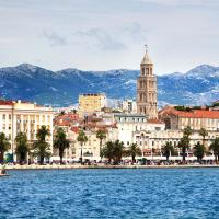 Split is a town on Croatia's Dalmatian Coast.