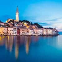 The old town of Rovinj in Croatia.