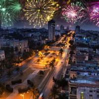 Fireworks over Havana