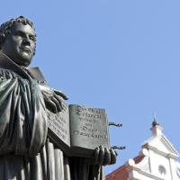 First Public Monument of Martin Luther, Wittenberg, Germany