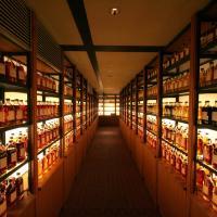 Whisky library at Yamazaki Distillery. Photo by yukink on Flickr.