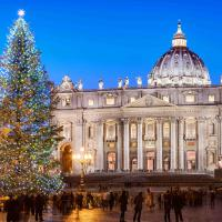 St. Peter's Square at Christmas, Vatican City